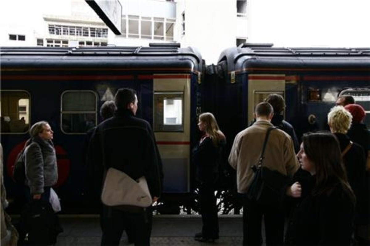 Not much to be cheerful about for rail commuters