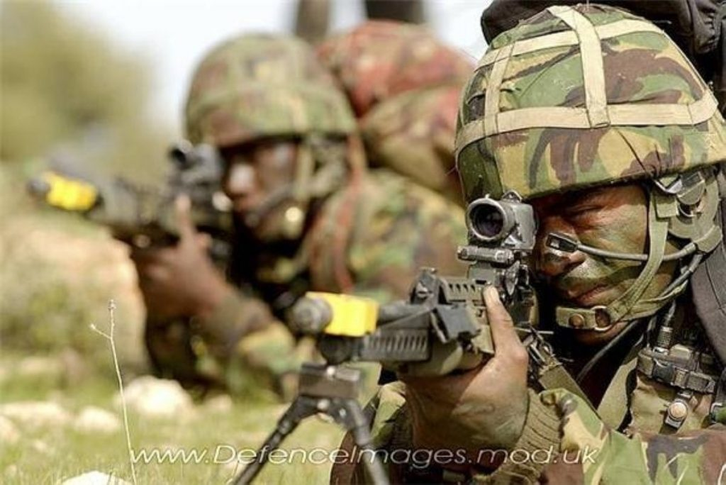 Army recruitment rises by 9.2 per cent but annual target is missed