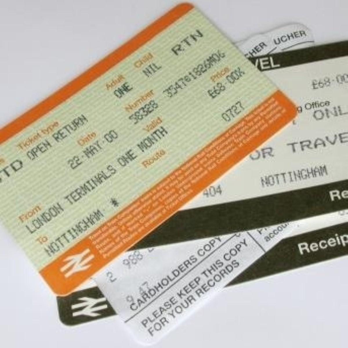 Train season tickets set to rise again today.