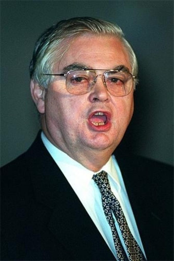 Norman Lamont in... more politically active times