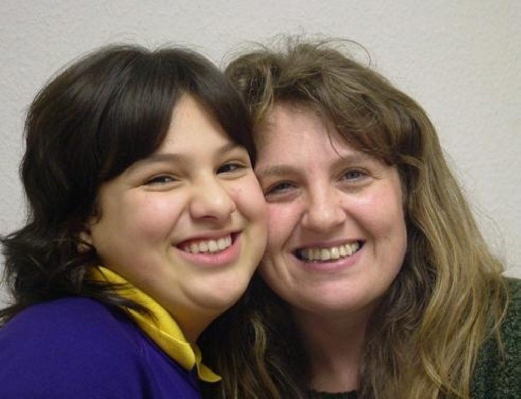 Molly Campbell and her mother, Louise