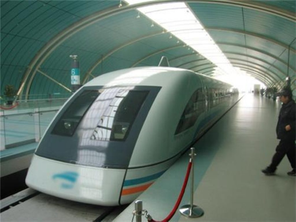 MagLev trains are among the projects being considered by the Tories