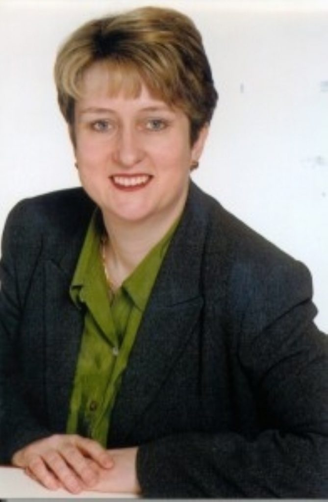Smith named first female home secretary