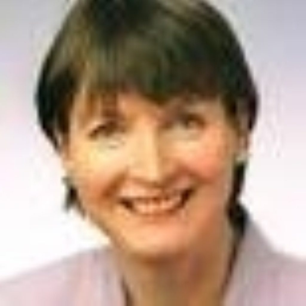 Harriet Harman says the Muslim veil holds women back