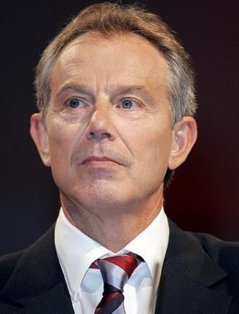 Blair 'priviliged' to have been PM