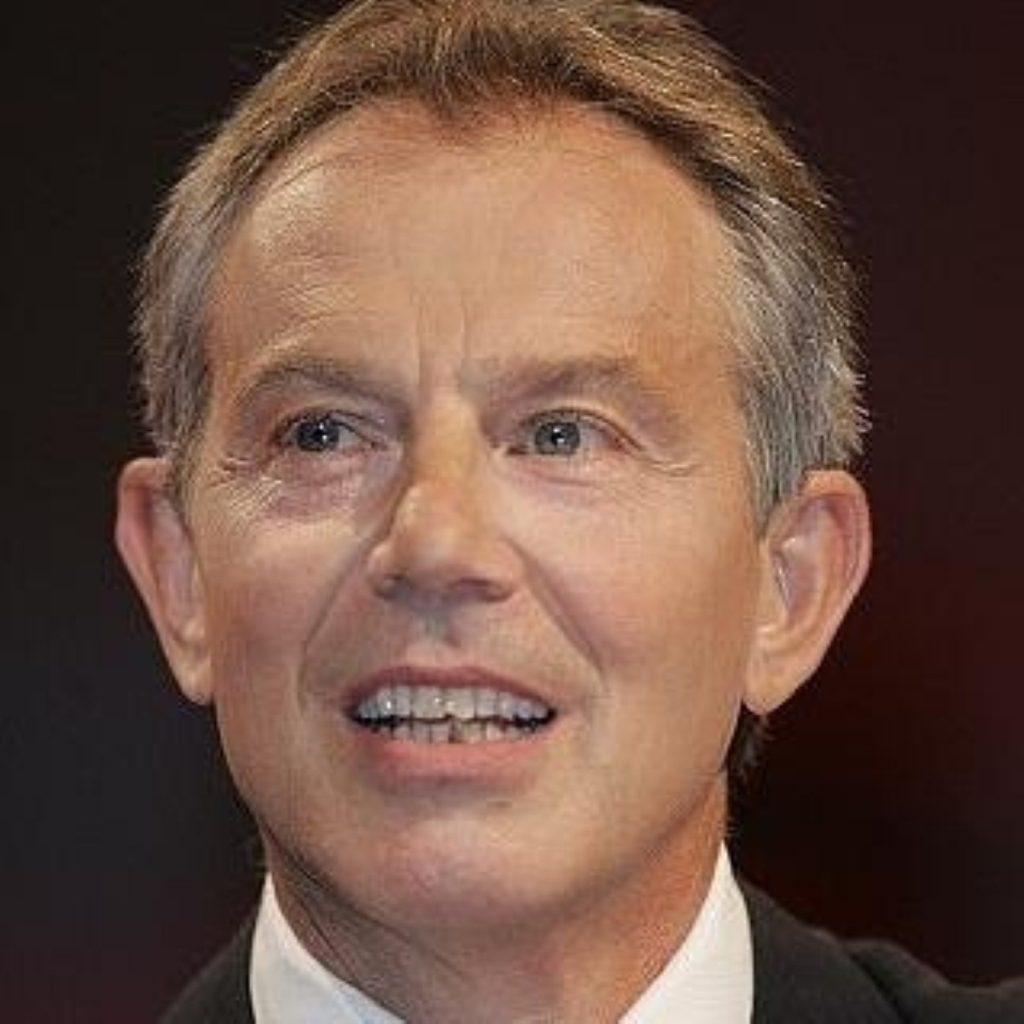 Blair in talks over NI future