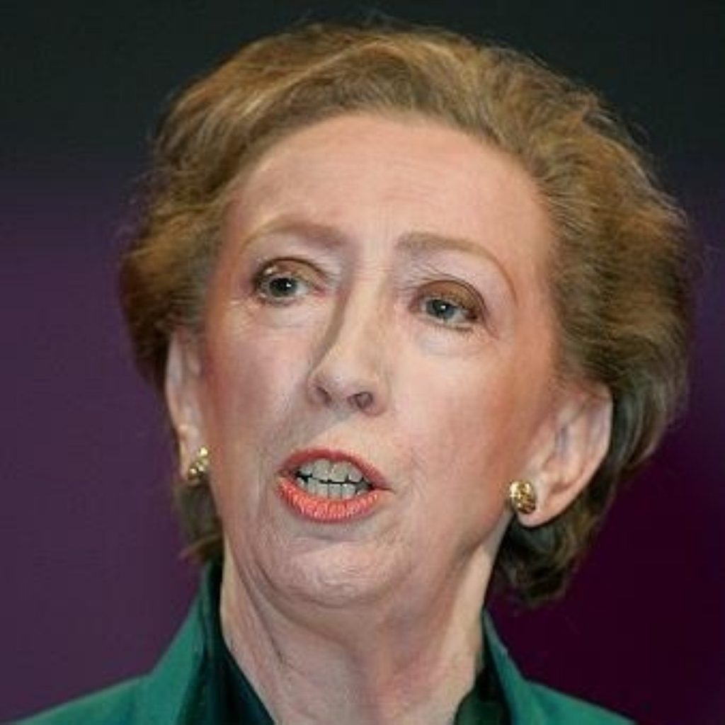 Margaret Beckett says global warming is a serious threat to international security