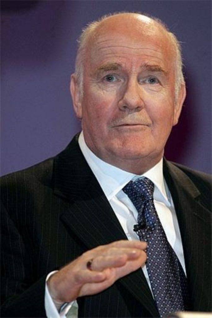Home secretary John Reid denies surrendering to Gordon Brown in Labour leadership battle
