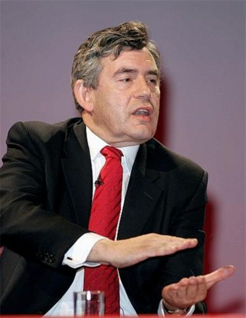 Gordon Brown criticism prompted Downing Street comments