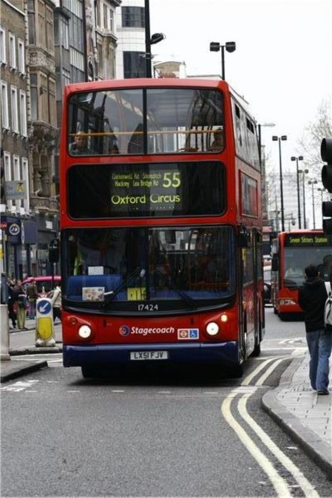 London buses are regulated and have seen passenger numbers rise
