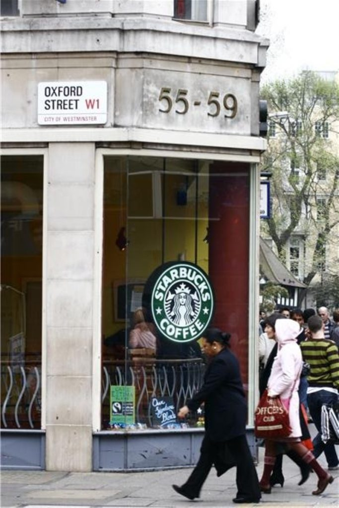 Starbucks has been at the centre of the controversy over corporate tax.