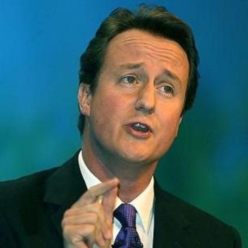 Cameron takes poll lead on crime
