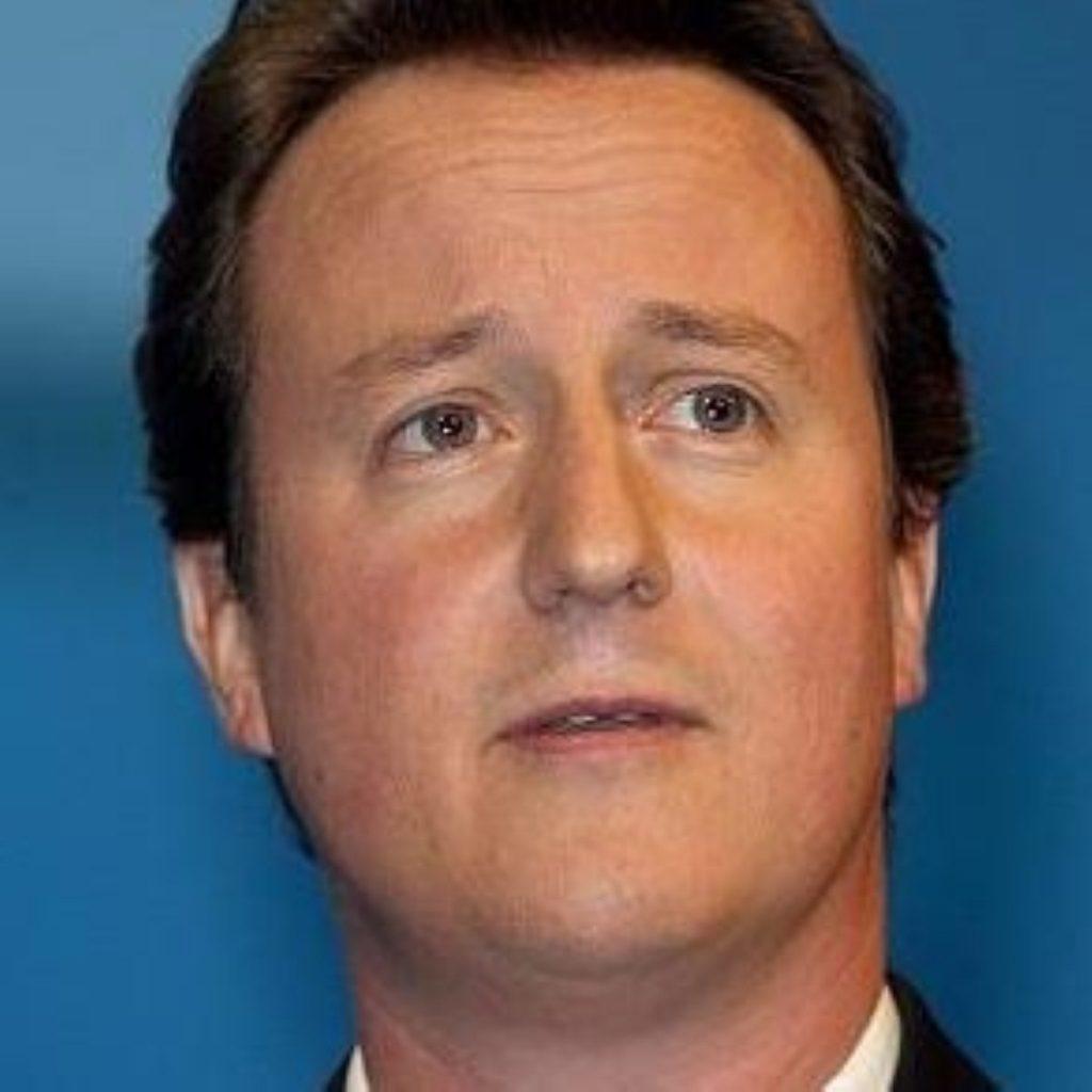 David Cameron presses Tony Blair on crisis in Darfur
