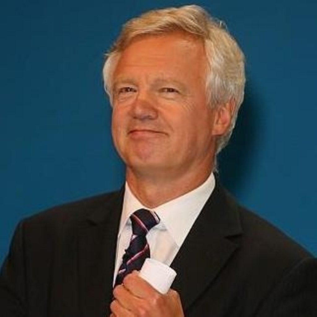 "David Davis: Government plan ""an assault on 'big society'"""
