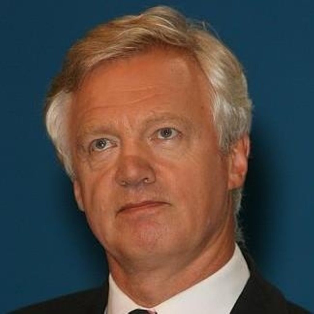 Mr Davis has accepted he may not return to the shadow Cabinet