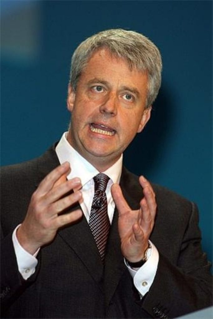 In the firing line: Lansley will not welcome having to explain the letter in the Commons