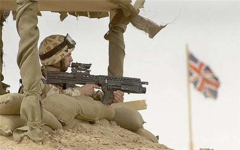 Troops 'receive excellent care'