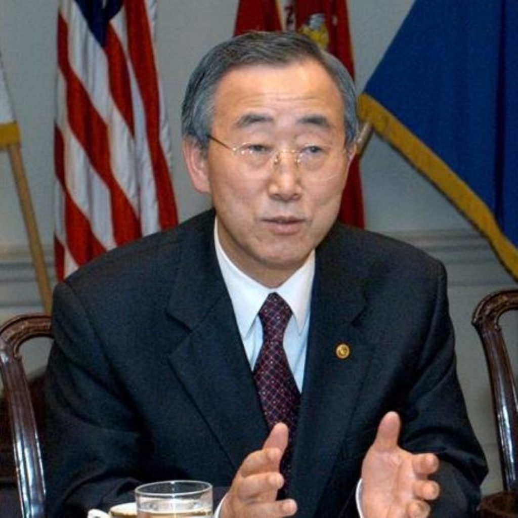 Ban ki-Moon: Violence in Syria must end