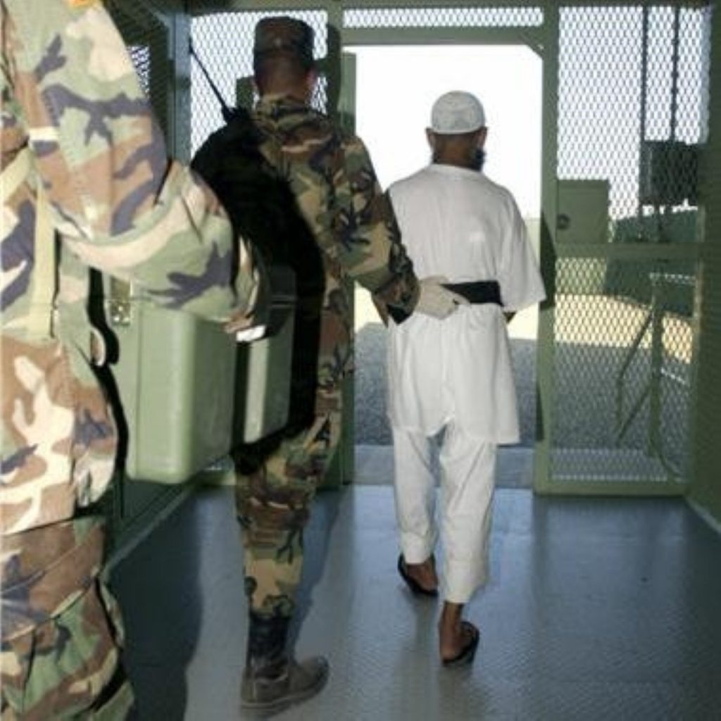 About half of Guantanamo detainees are currently on a hunger strike.