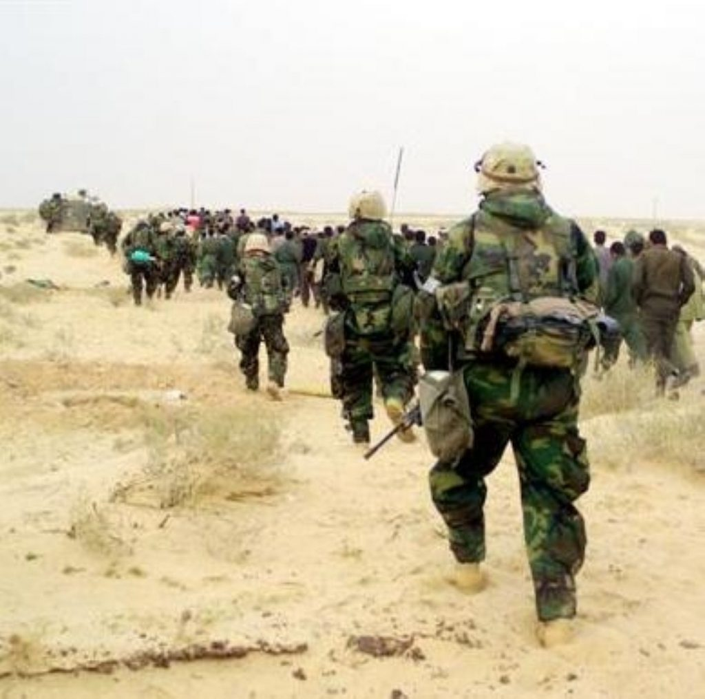 The decision to go to war in Iraq is under the spotlight again today