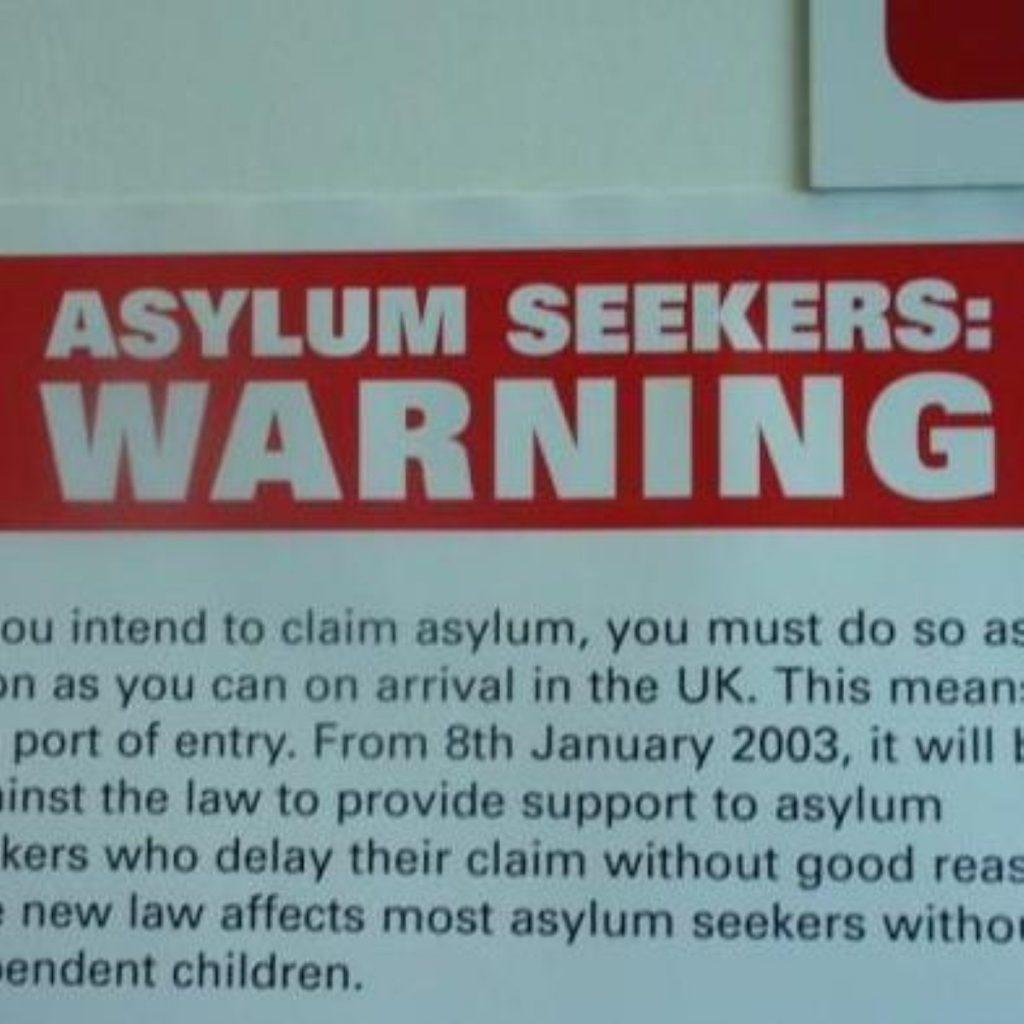 Asylum seeker policy is 'failing'