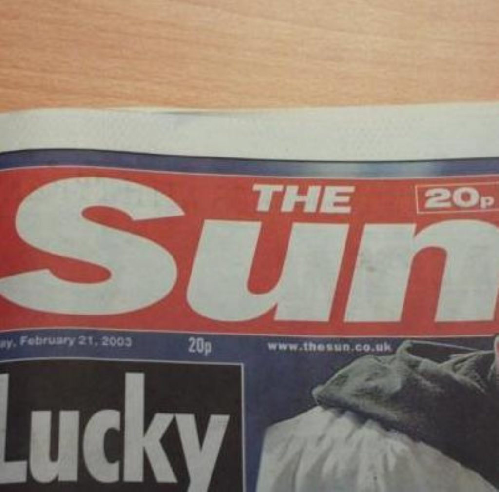 Sun on Sunday to be launched this weekend