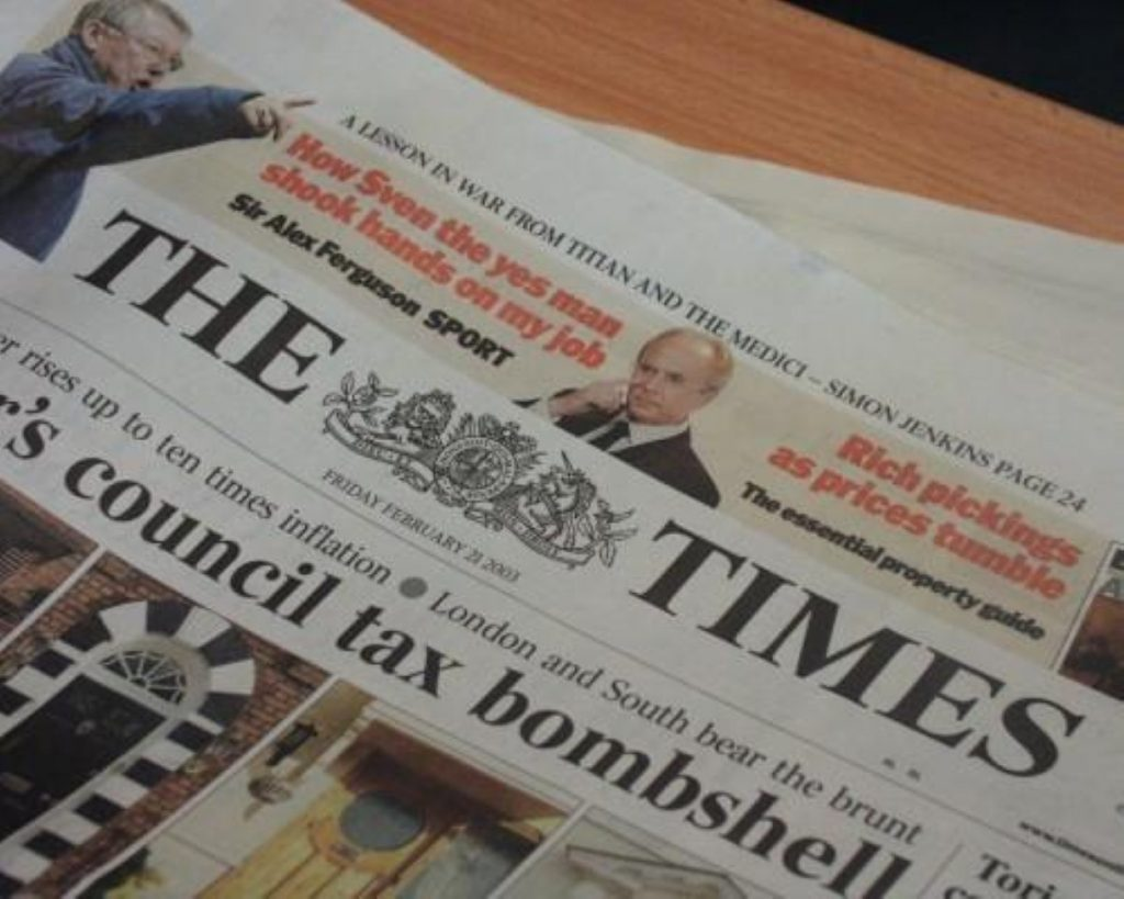 The Times dragged into hacking scandal