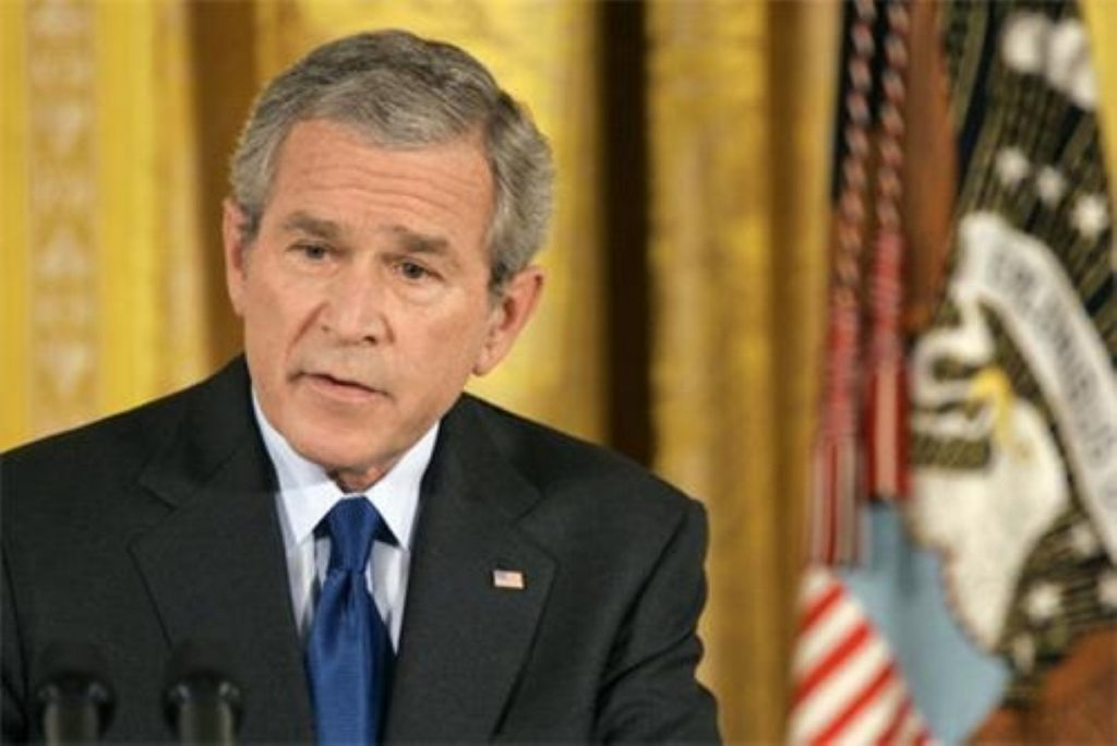 George Bush's state of the union mentioned climate change