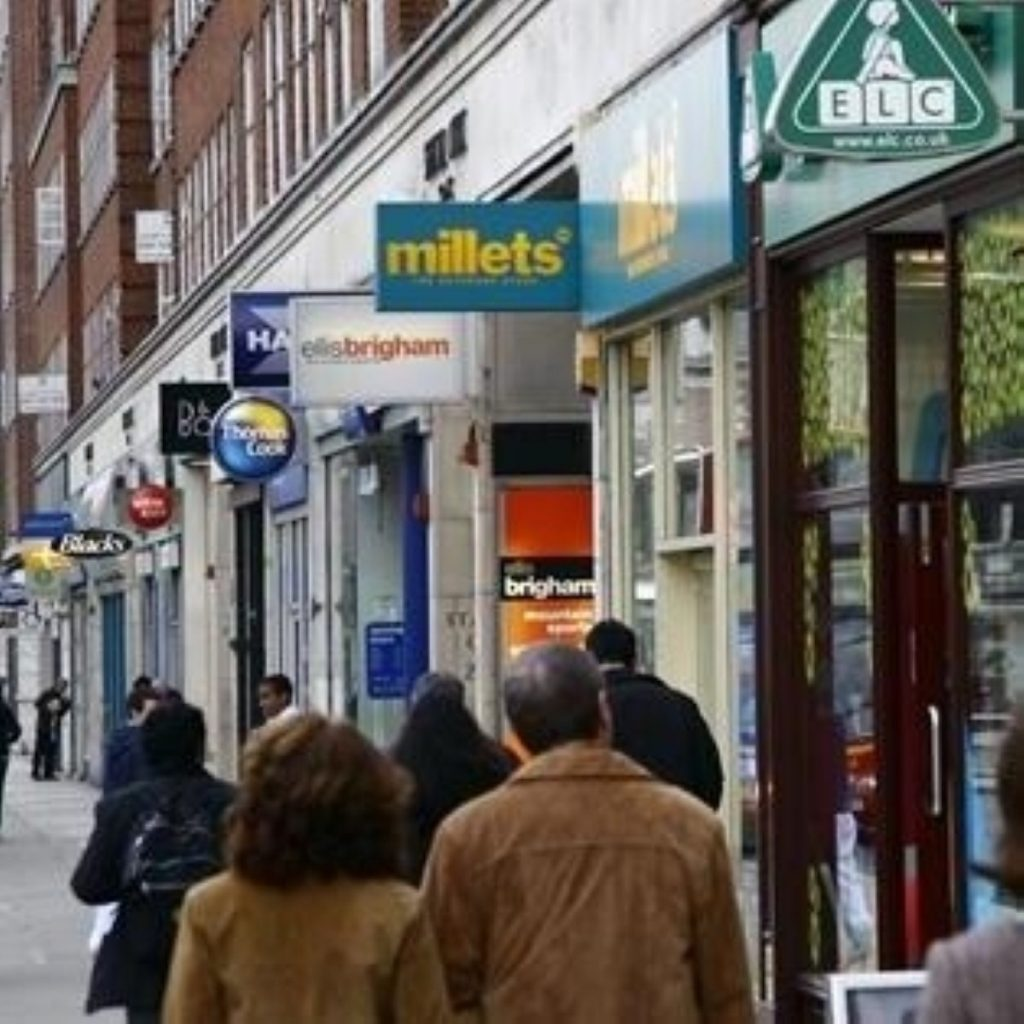 Tory-sponsored private bill aims to protect the high street