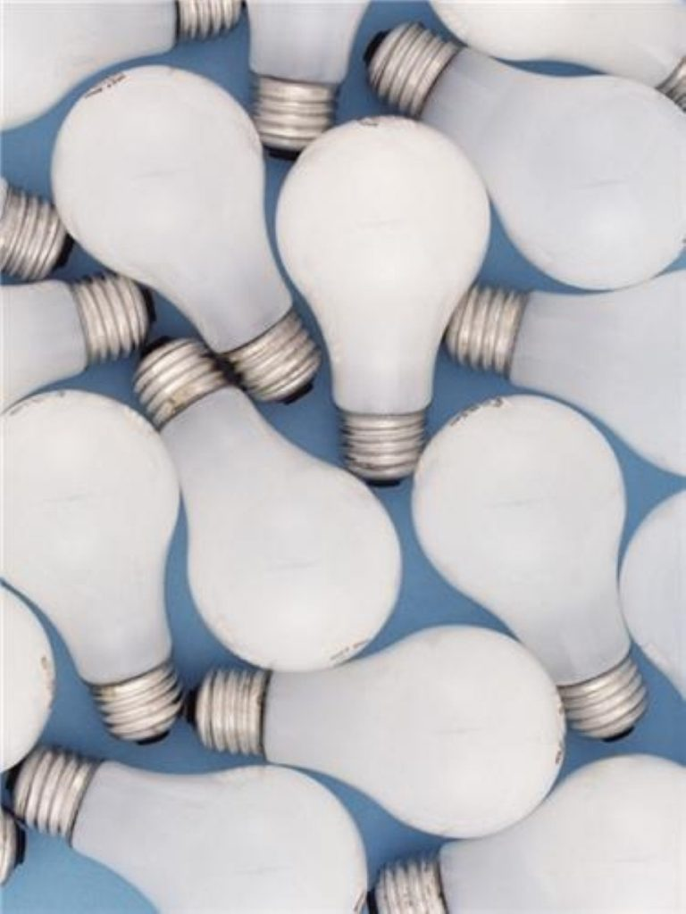 Environment secrectary Hilary Benn introduces plans to phase-out inefficient light bulbs.