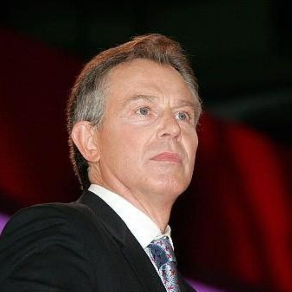 Tony Blair appears to set a resignation date