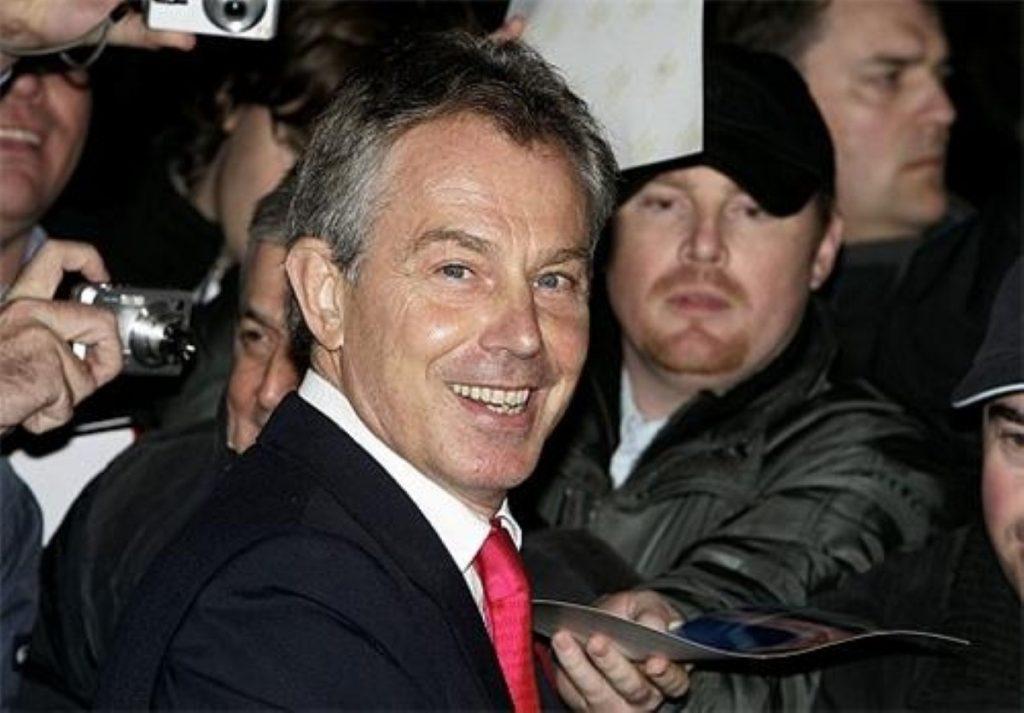 Tony Blair praised Pakistan's efforts to tackle terrorism