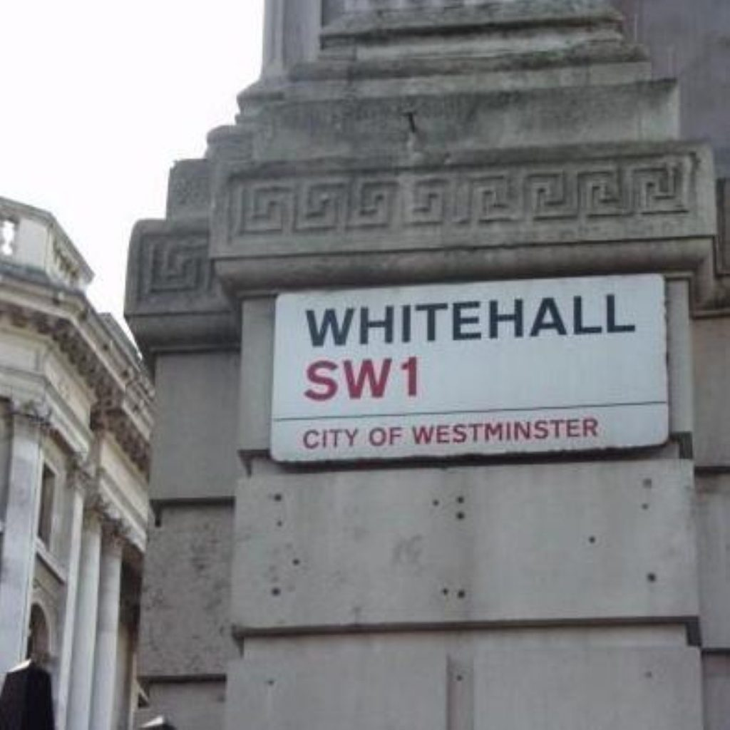 Whitehall blamed for - well, pretty much everything