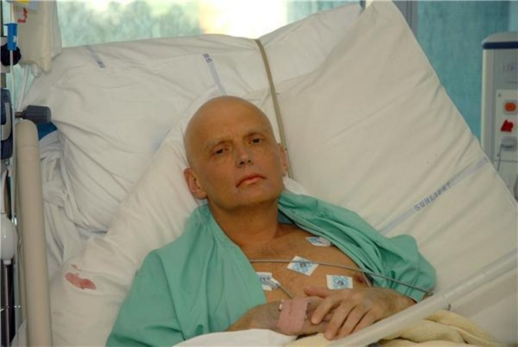 The Home Office says radioactive material may have killed Alexander Litvinenko