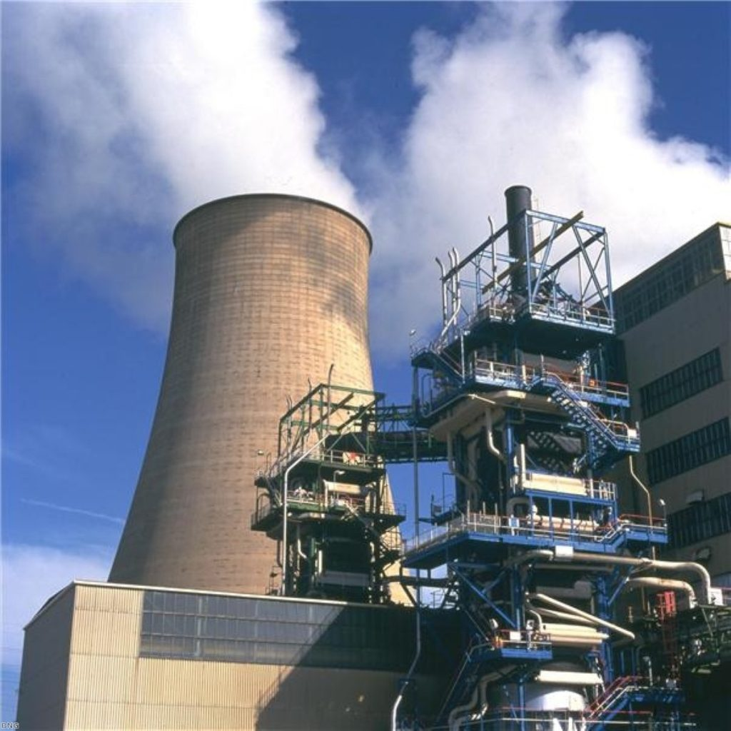 Calder Hall nuclear power station