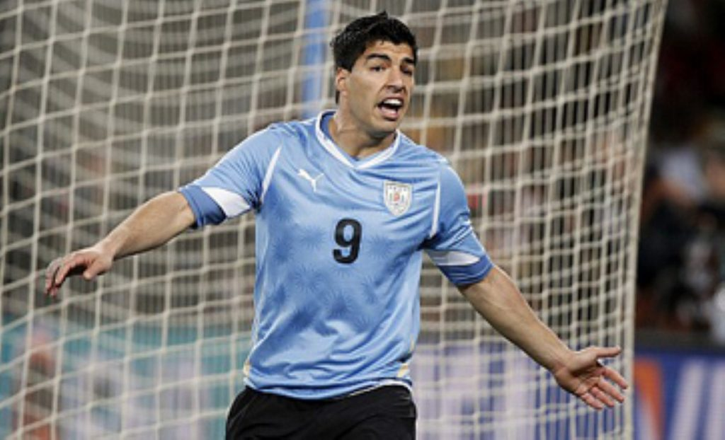 Luis Suarez: At the centre of controversy once again.
