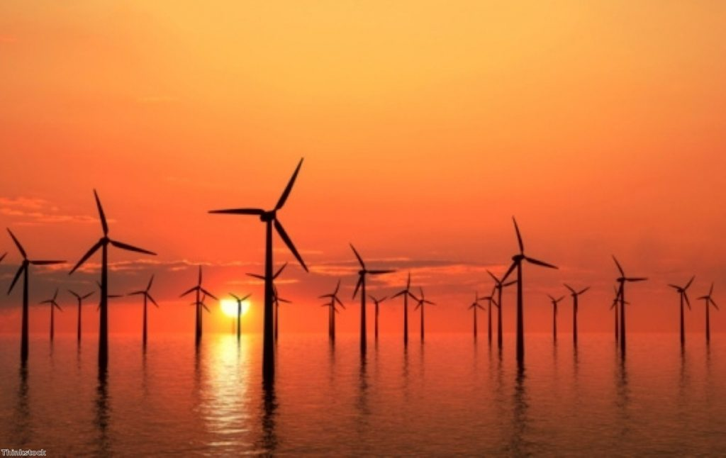 Windfarms may be on the rise