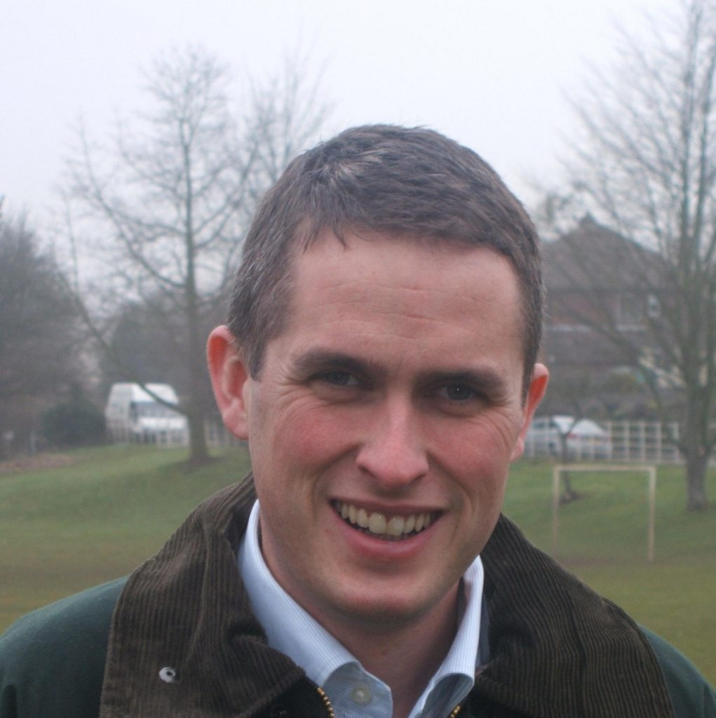 Gavin Williamson is the Conservative MP for South Staffordshire