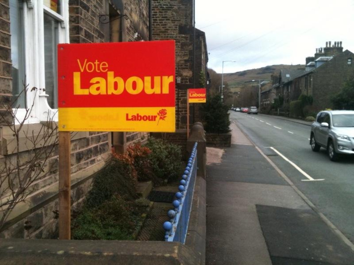 Voting Labour: Miliband wants the local elections to reflect Labour's poll rating