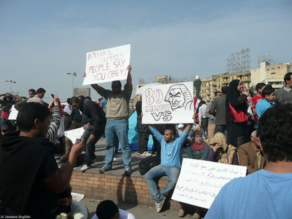 Pro-democracy demonstrations are changing the face of north Africa