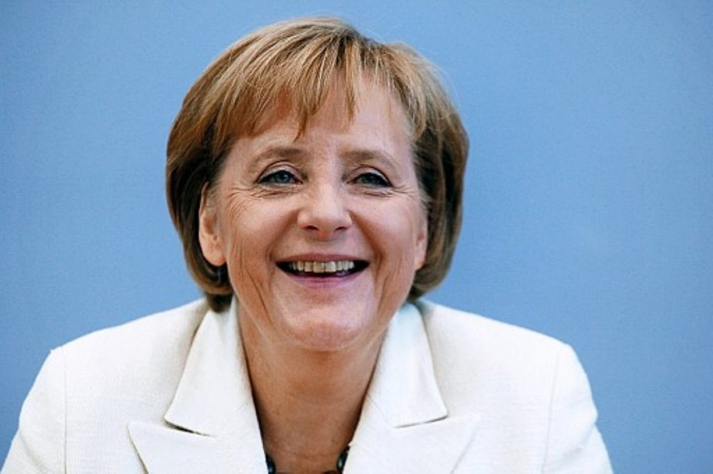 Angela Merkel's comments were more positive than those of foreign minister Guido Westerwelle