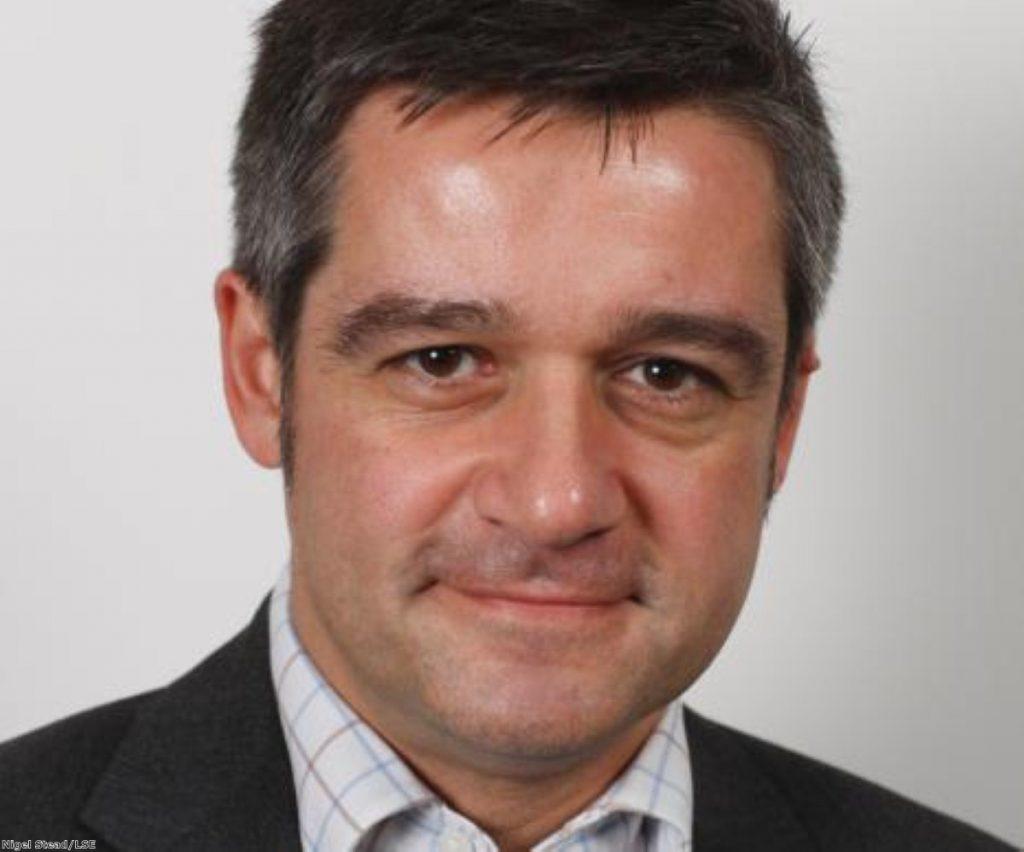 Charlie Beckett is director of POLIS, the LSE media thinktank. Photo: Nigel Stead/LSE