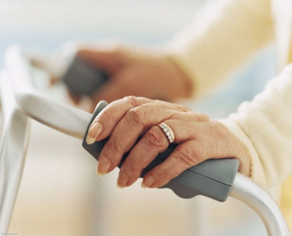 The elderly are particularly affected by soaring energy prices