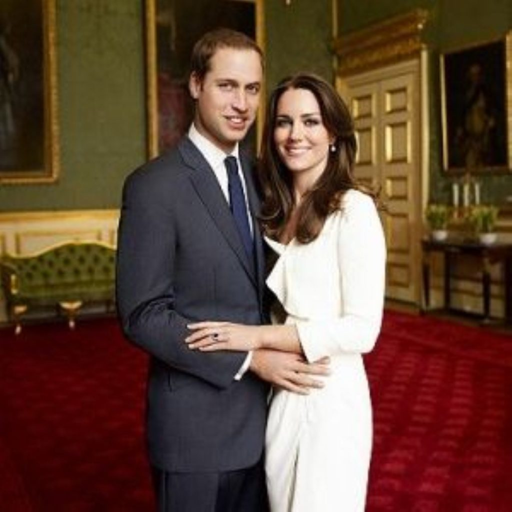 William and Kate: Soon to be proud parents.