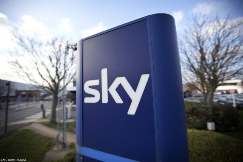 BSkyB is paying out to shareholders after a bruising few weeks