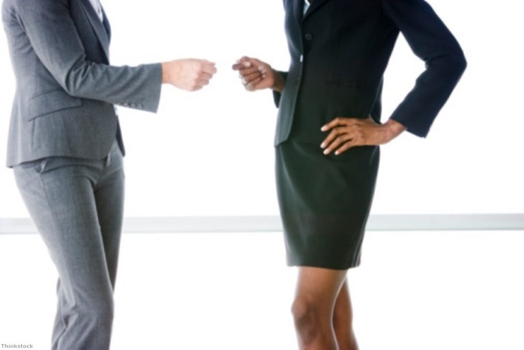 Exchanging cards: Pay for women continues to fall behind men's