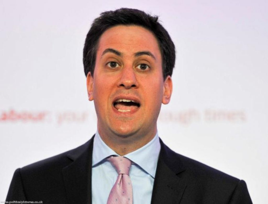 Wrong on immigration: Ed Miliband has reffered to the topic as a 'class issue'. Photo: www.politicalpictures.co.uk