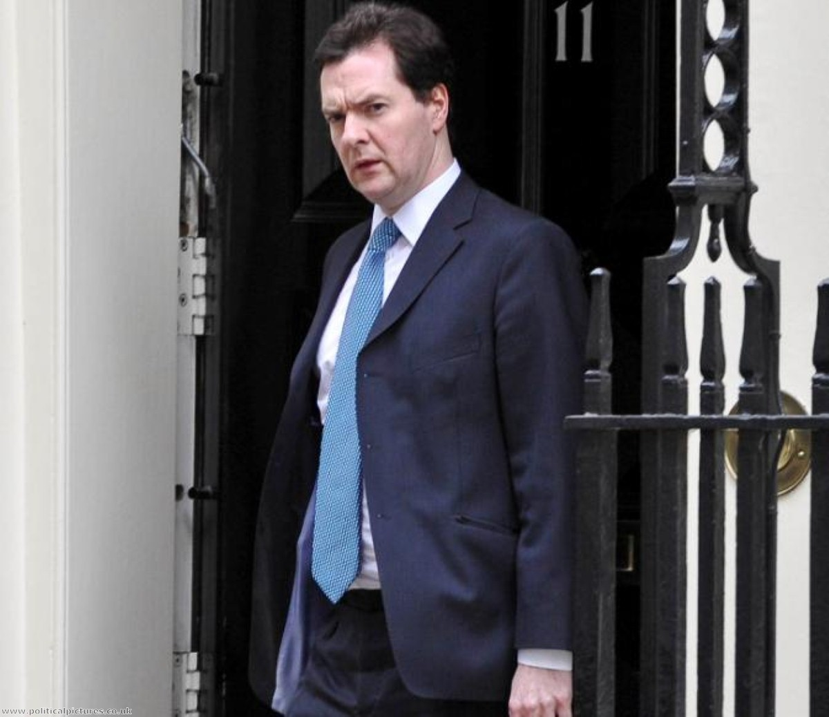 Osborne's position as chancellor is safer after a relatively well-received Budget. Photo credit: www.politicalpictures.co.uk