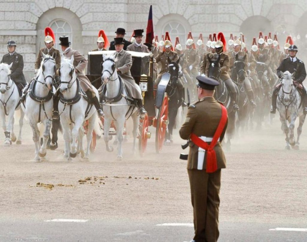 Royal wedding rehearsal took place early on Wednesday. Photo: www.politicalpictures.co.uk