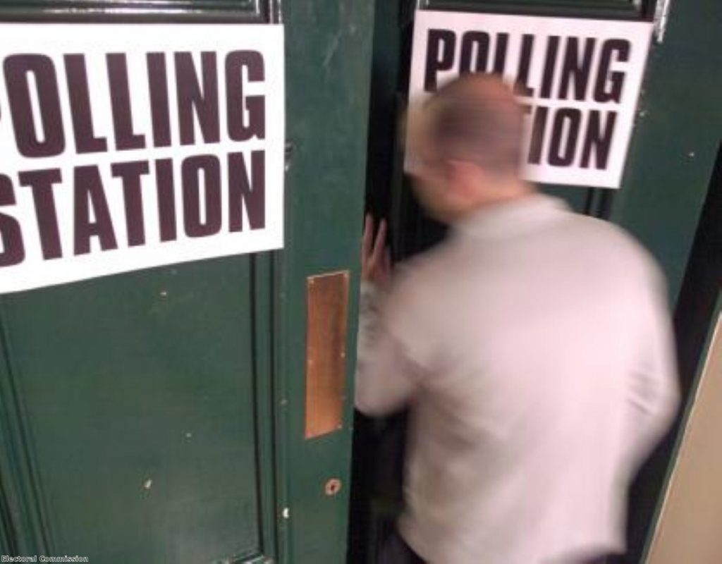 Time to vote. Photo: Electoral Commission
